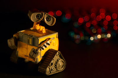 Wall-e Sees Red