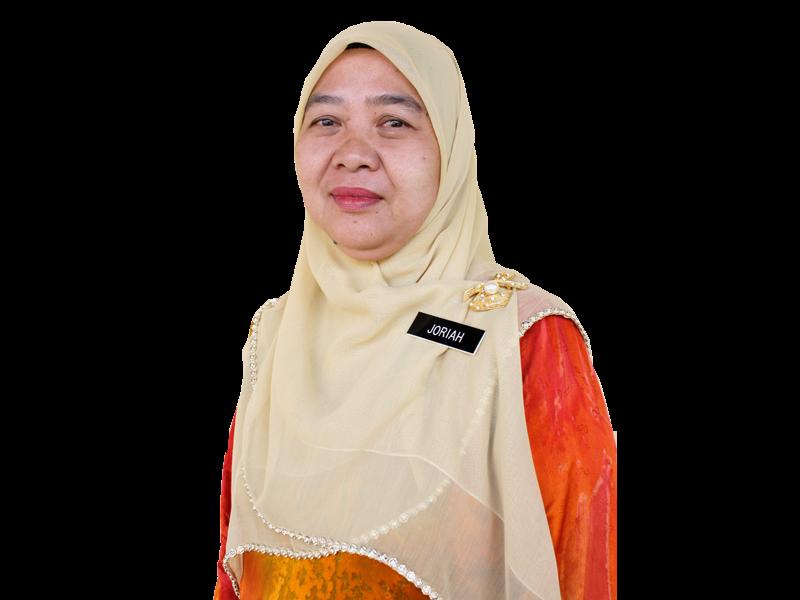 Hjh Joriah binti Shalihin, Guru Besar SK Larkin 1