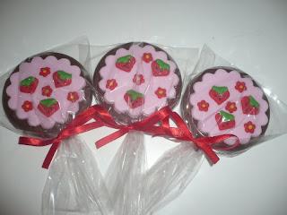 doce pirulito chocolate moranginho