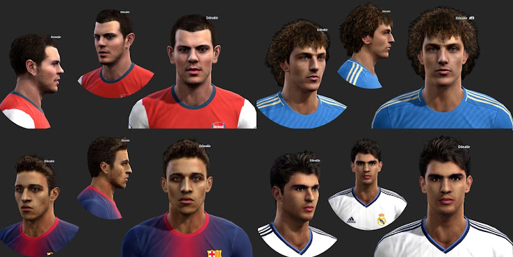 PES 2013 Facepack by ilhan