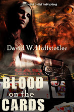 BLOOD ON THE CARDS by David Huffstetler