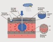 Afbeelding 1. Bodemfysische processen tijdens ondergrondse waterberging. pag. 2