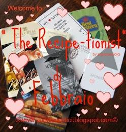 THE RECIPE- TIONIST DI FEBBRAIO