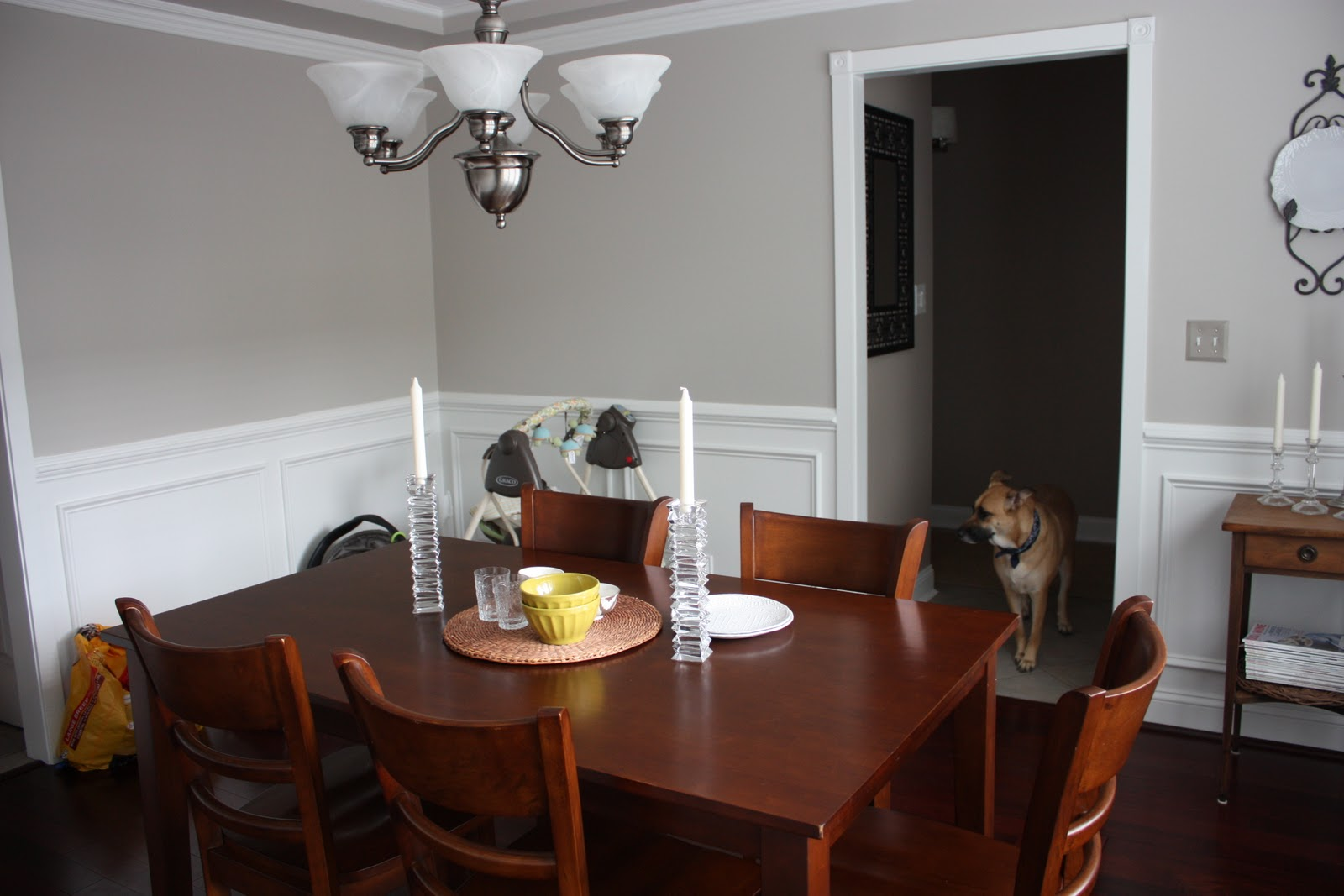 A Simple Kind Of Life A NewOld Dining Room - Martha stewart dining room table