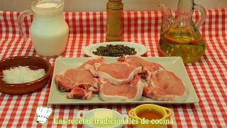 Receta lomo con salsa pimienta verde