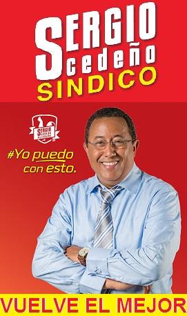 Sergio Cedeño Sindico.