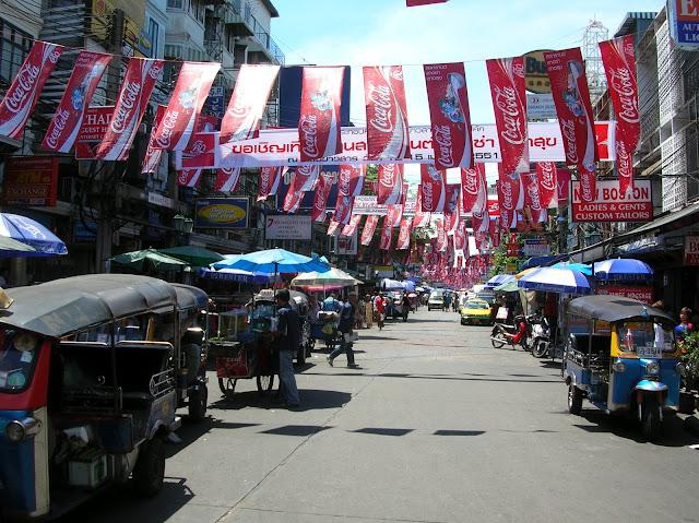 cosa fare a bangkok, Khao San Road