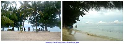 Pantai Saung Cemara, Pulau Tidung