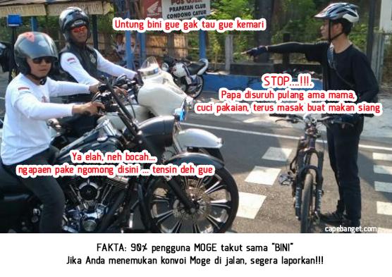 Meme Moge, Meme Harley Davidson