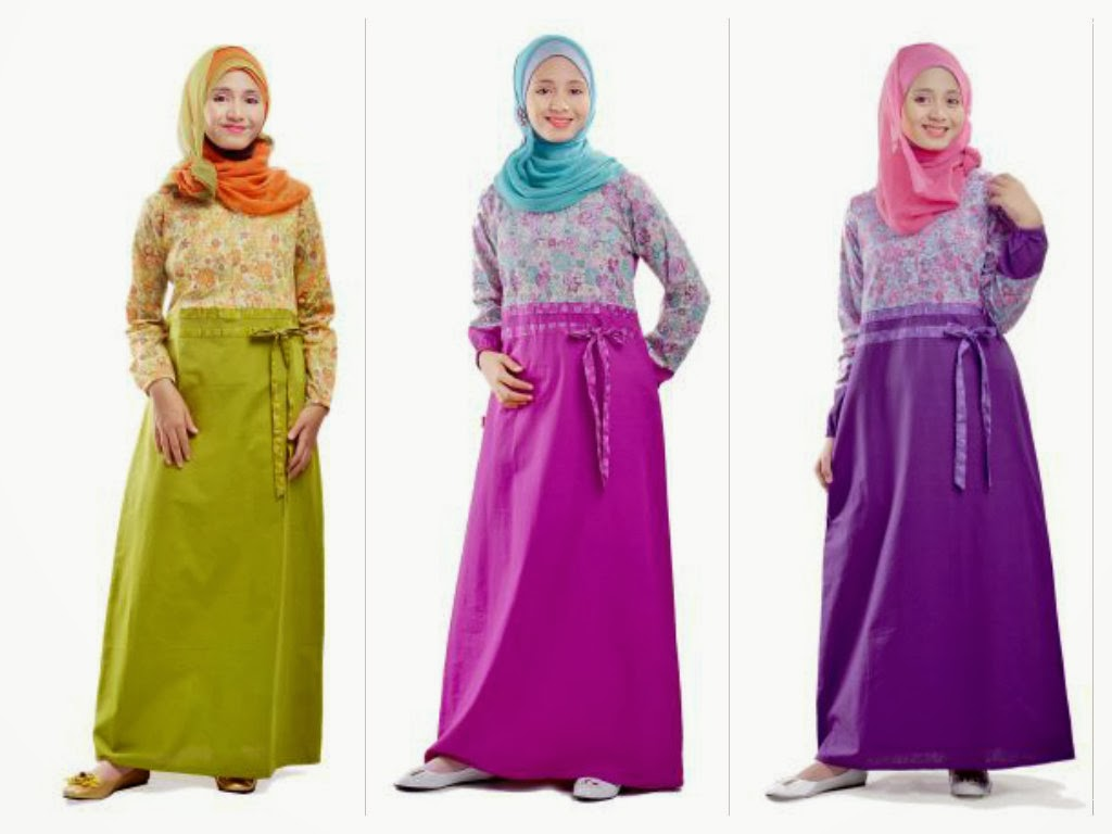 Baju Gamis Muslim Muda Indonesia Gms 12 Ethica Collection