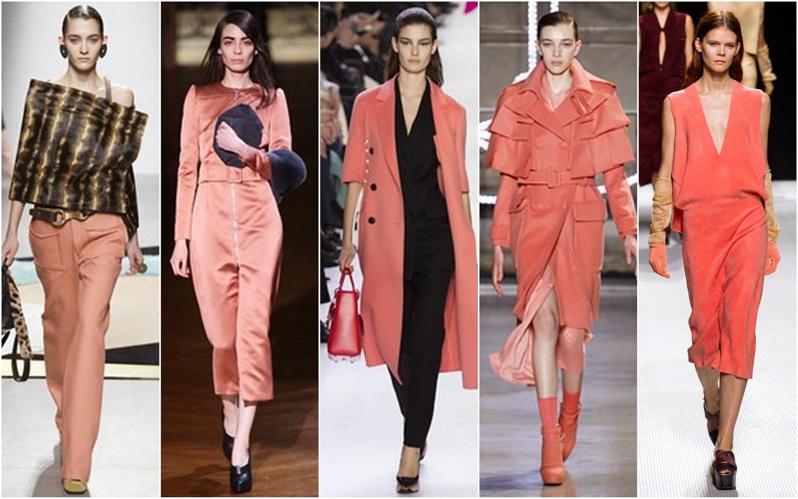 Beautifully Fierce Paris Fashion Week Fall 2014 2015 Color Trends