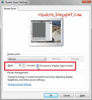 Thay đổi cách Windows khóa và tiết kiệm năng lượng