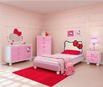 Gambar Kamar Tidur Anak Perempuan