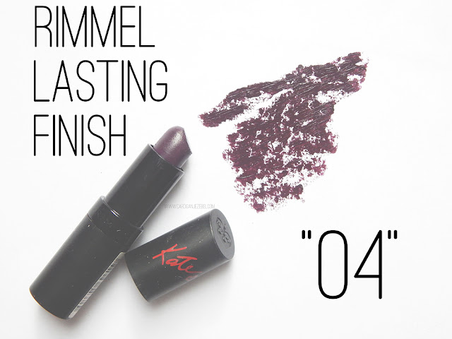 Rimmel Lasting finish in 04 swatch