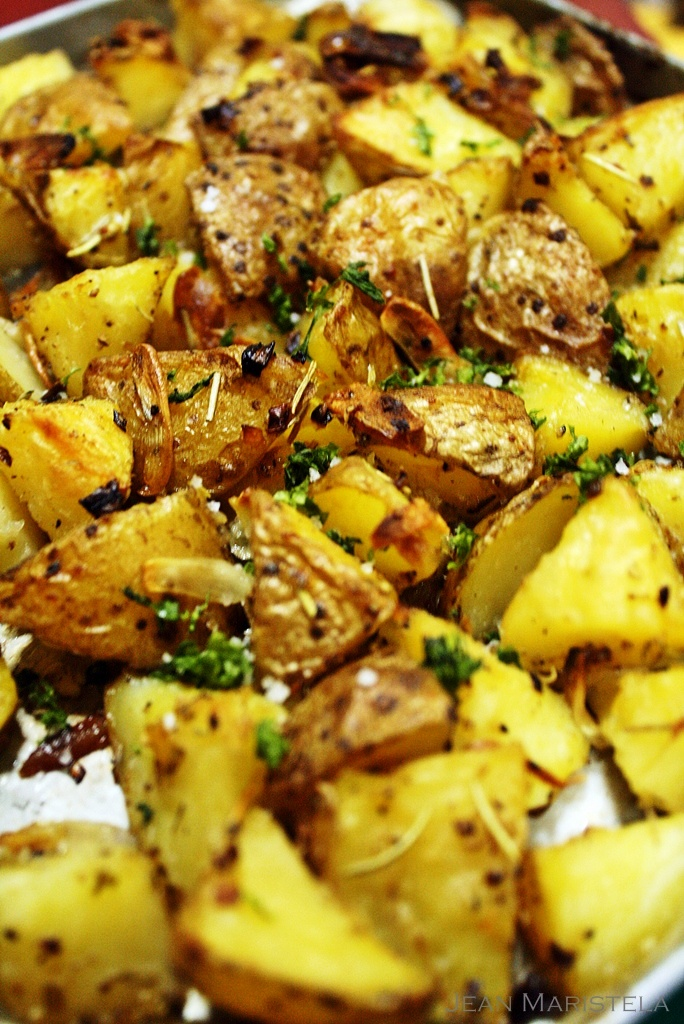 The Bestest Recipes Online: Rustic Style Roasted Potatoes ...