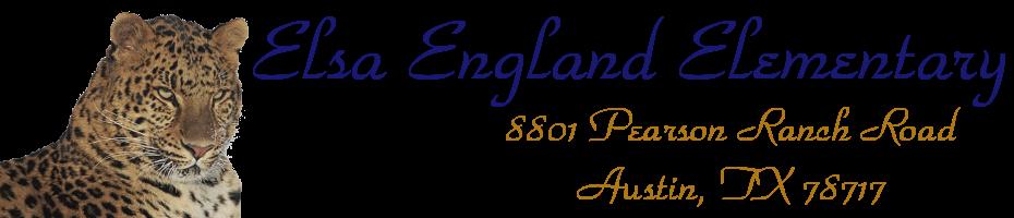 Elsa England Principal's Blog