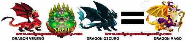 como obtener el dragon mago en dragon city formula 2