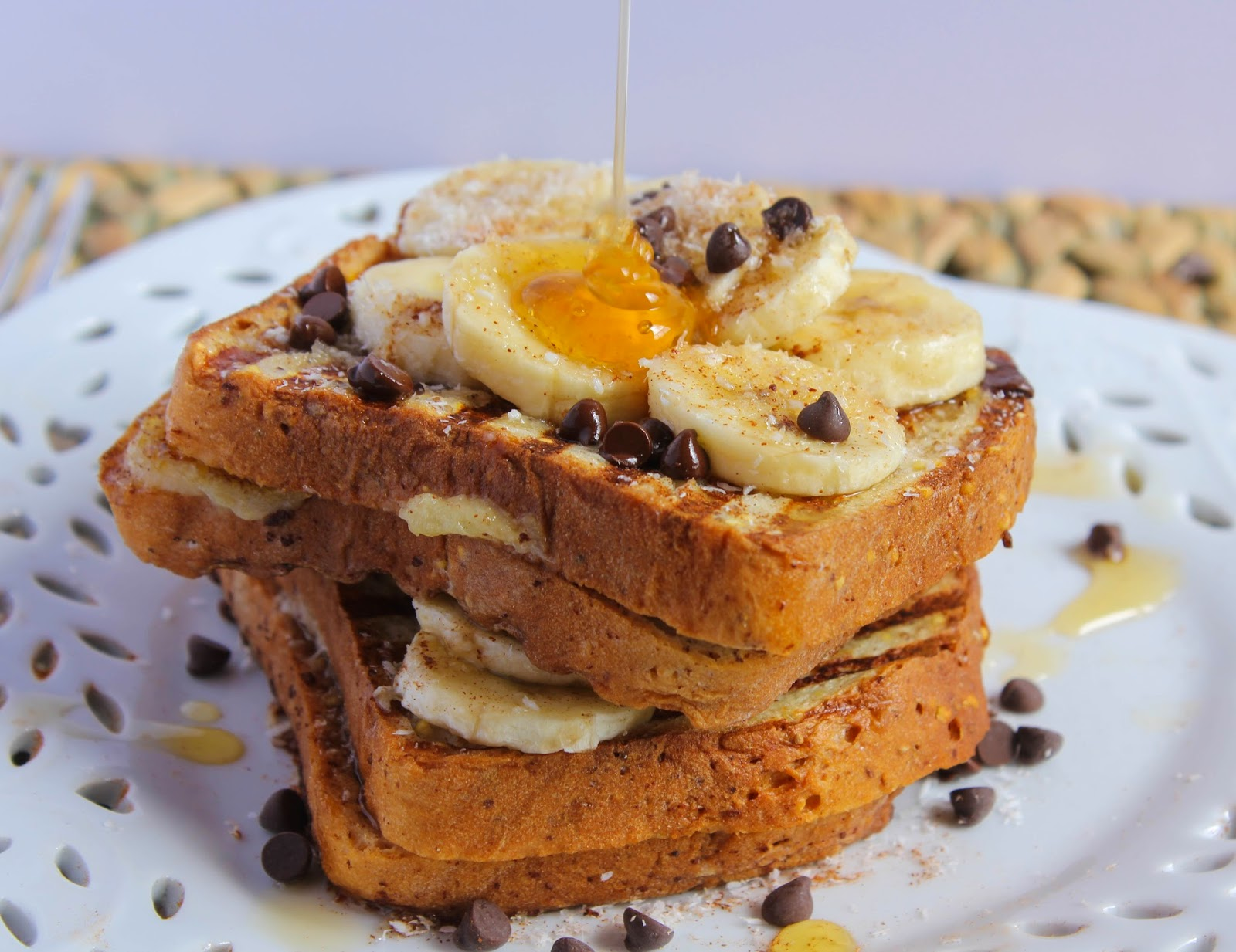... banana stuffed french toast recept yummly banana bread french toast