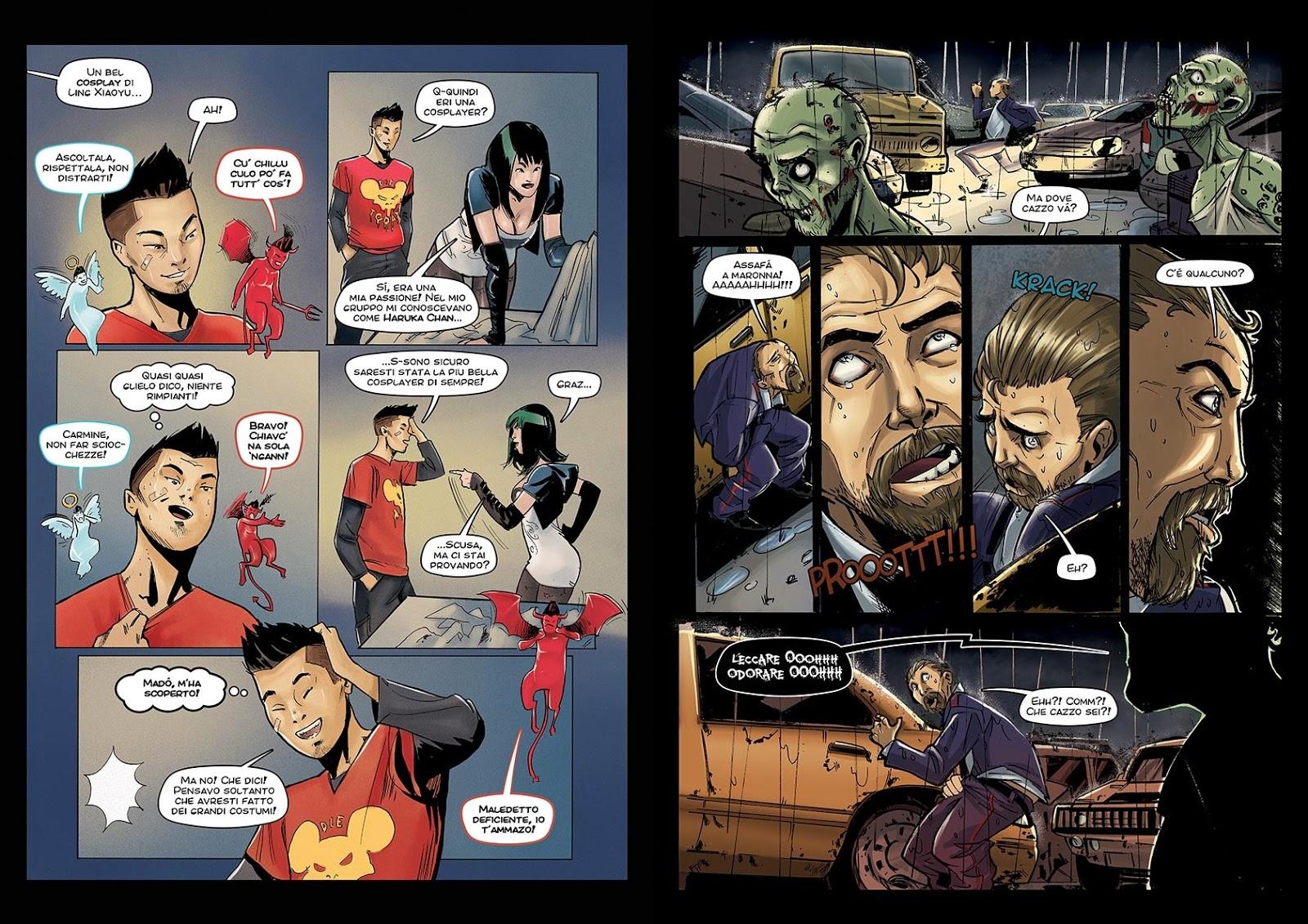 47 - Dead Man Talking, alcune tavole dal numero 2