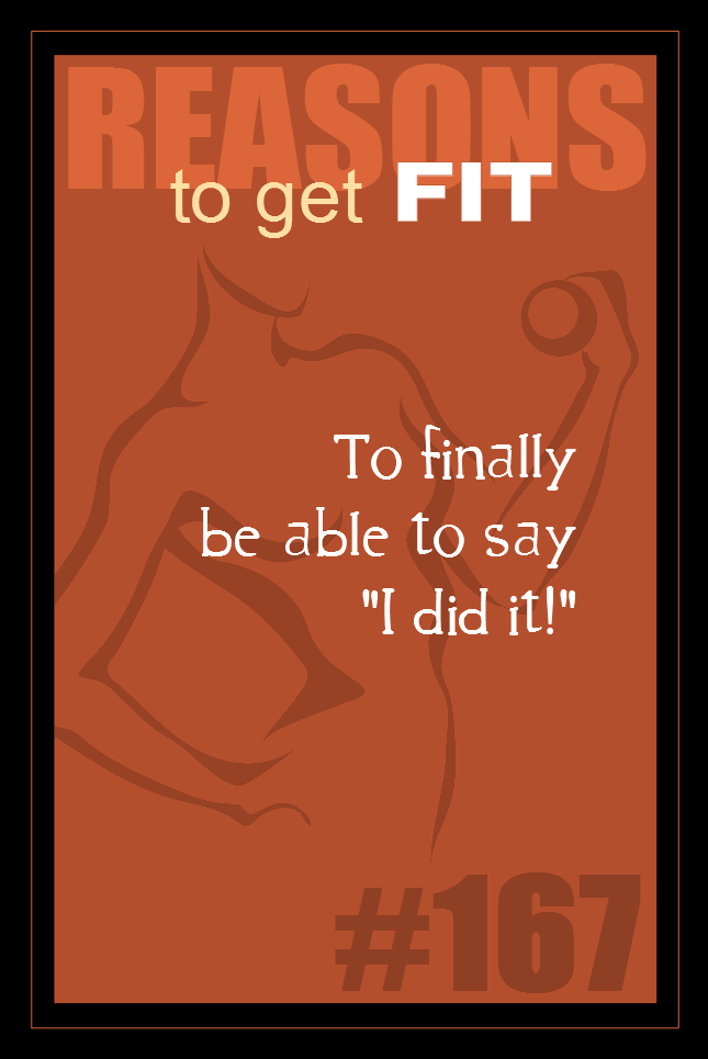 365 Reasons to Get Fit #167