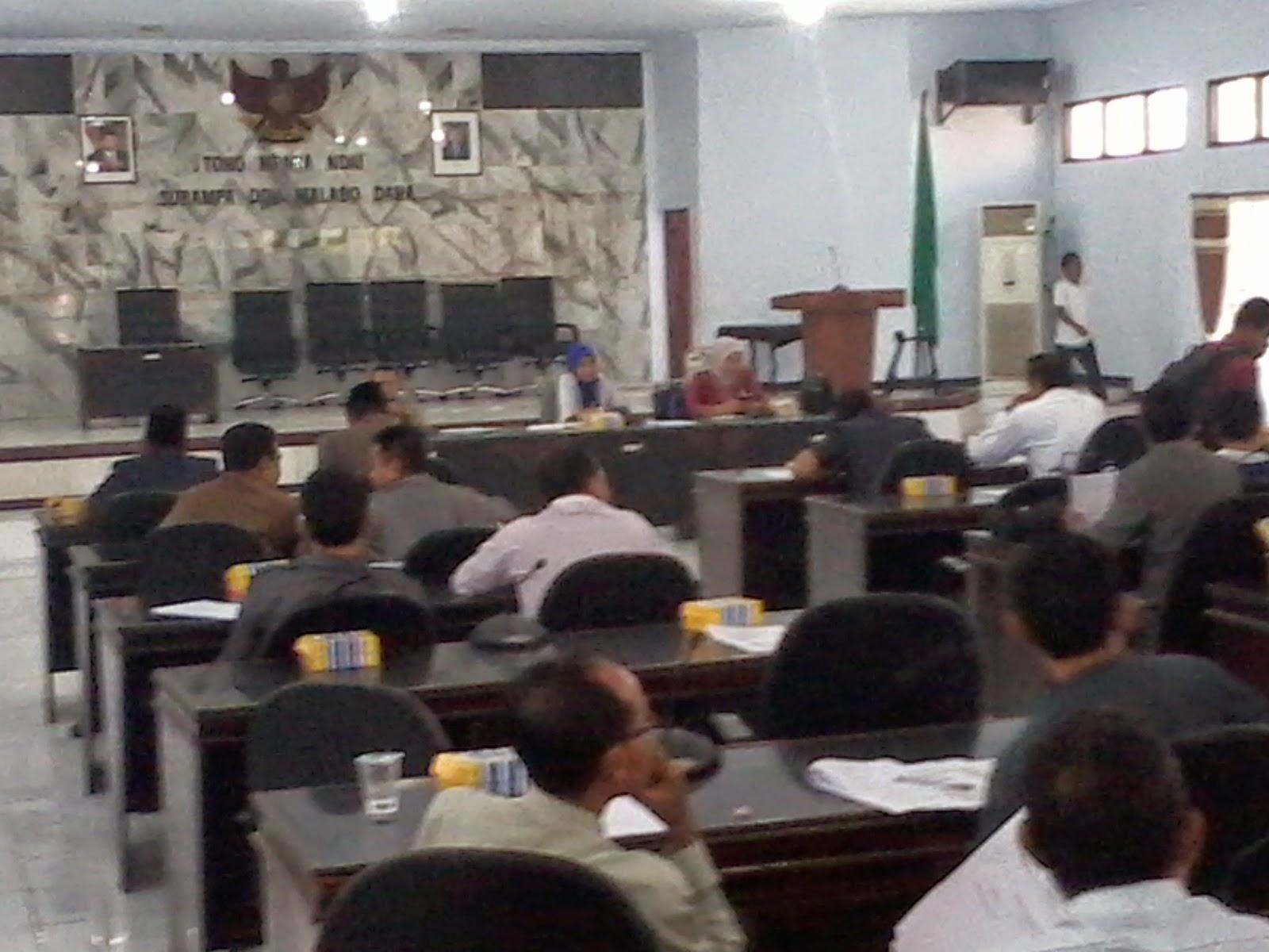 Pembahasan Dewan Kabupaten Bima Masih Seputar Tatib