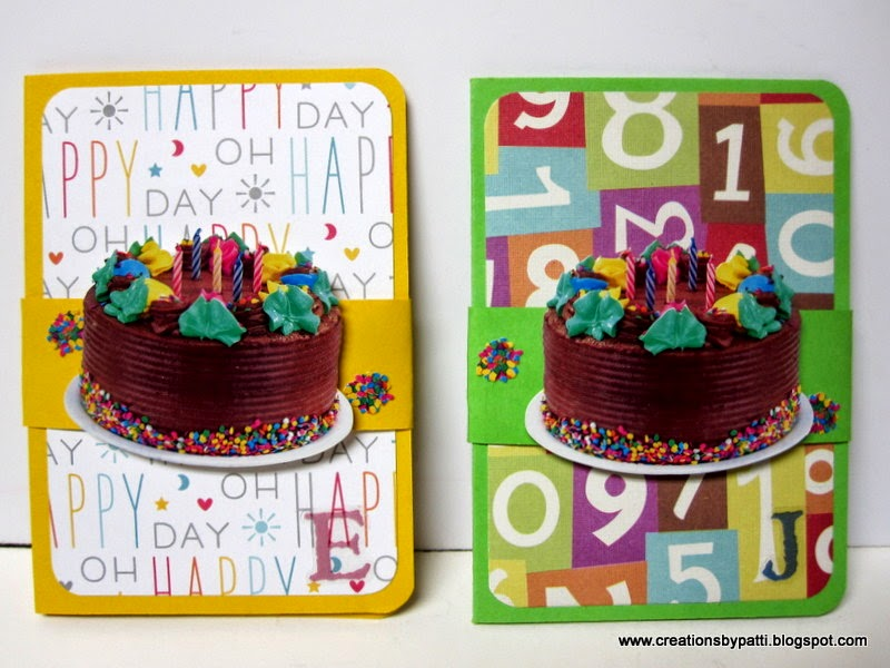 Creations By Patti Birthday Gift Card Holders