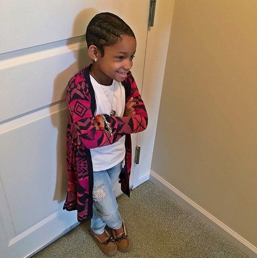 Leah Still Is Too Cute With Her Finger Waves