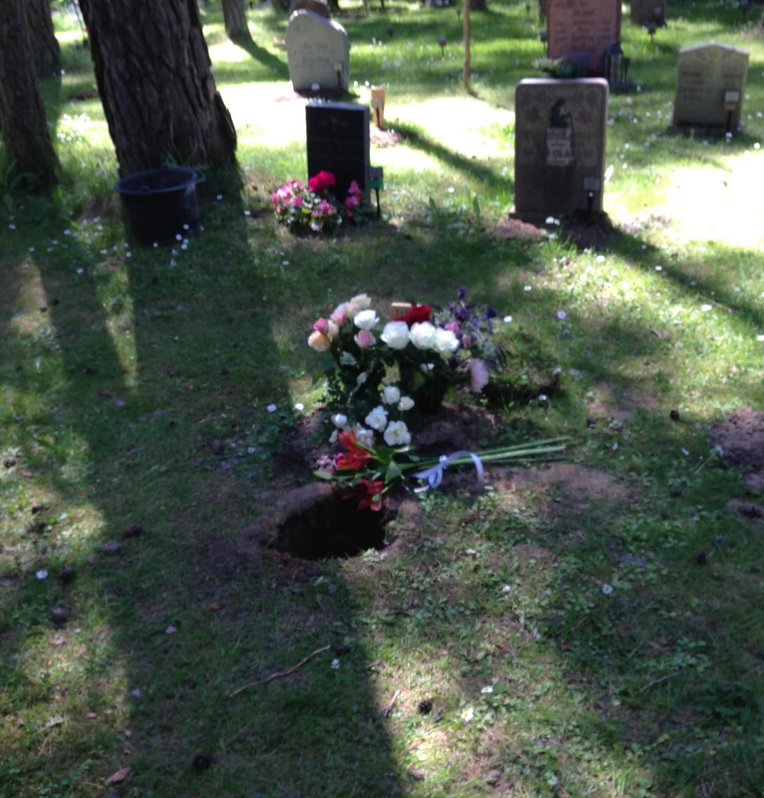 var ligger graven