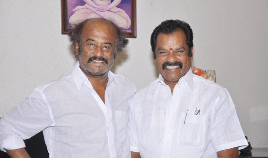 Rajinikanth Latest Photos At Kootanchoru Restaurant Private StillsPics wallpapers