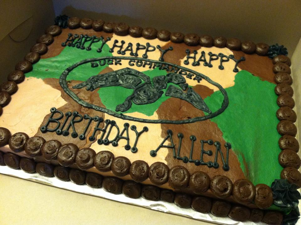 Duck Commander Birthday Cake Image Inspiration of Cake and