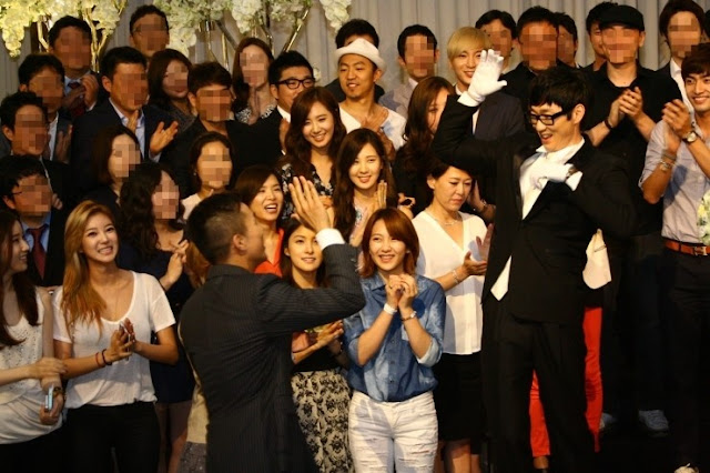 [PICTURE] SNSD and KARA at SM STAFF WEDDING