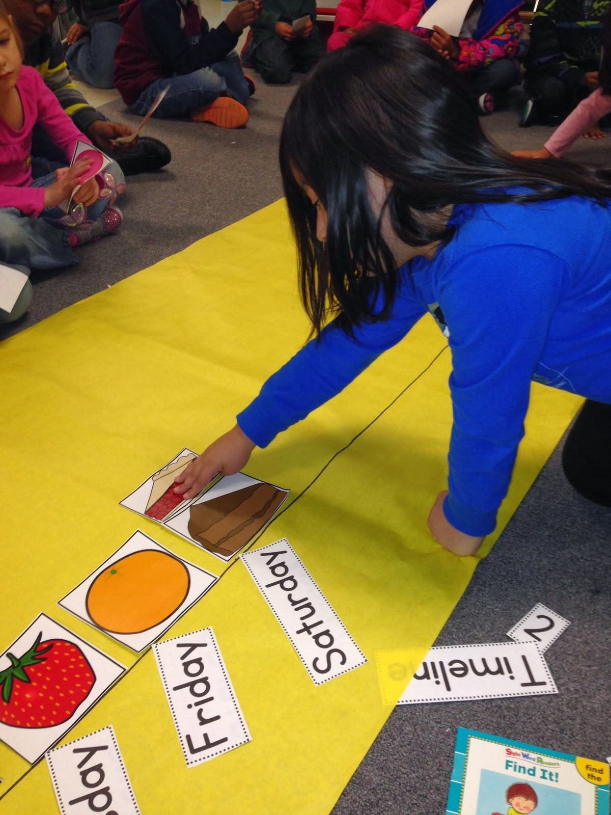 Chalk Talk: A Kindergarten Blog: Creating Timelines- The Very Hungry ...