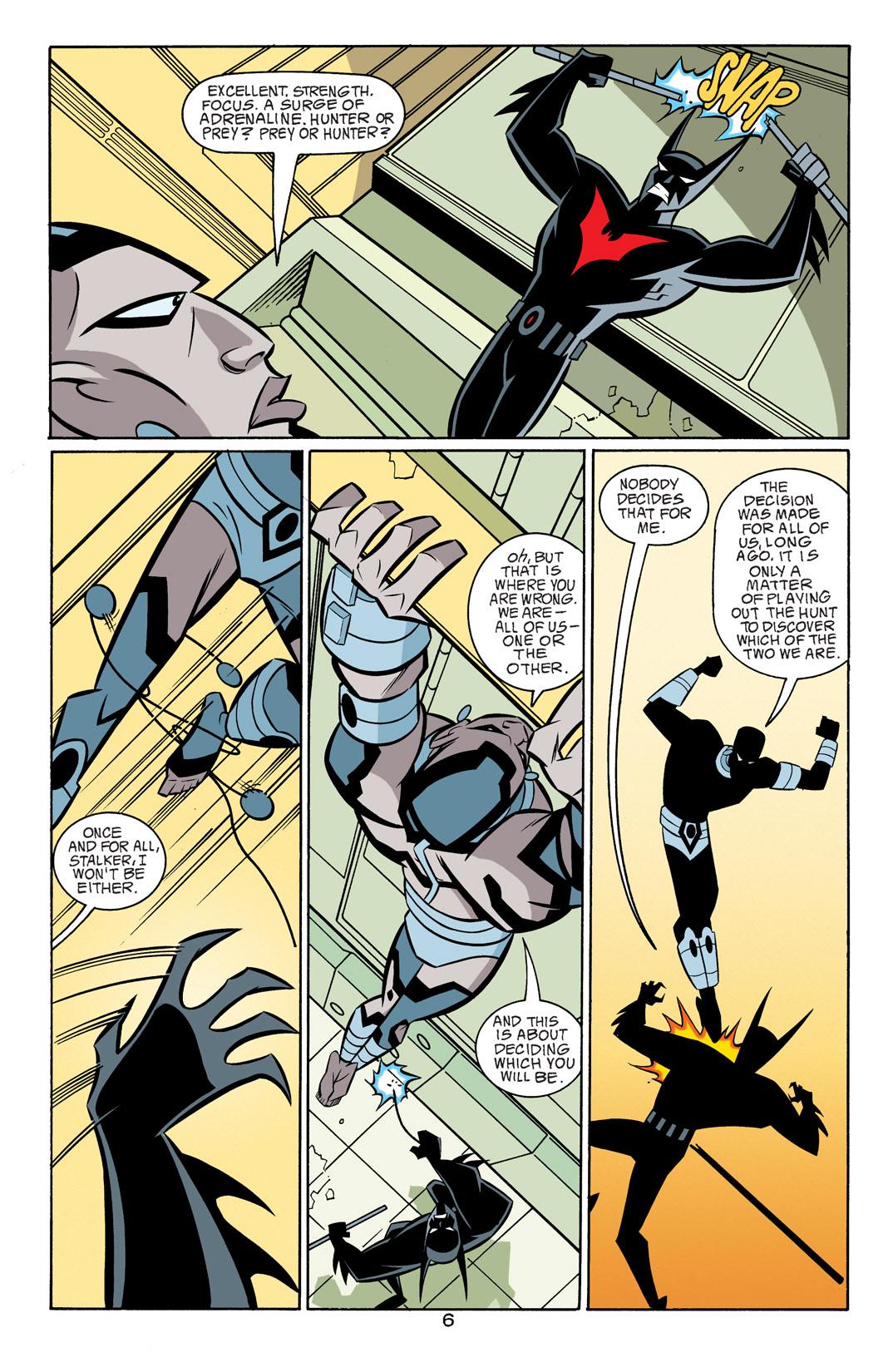 Batman Beyond [II] Issue #18 #18 - English 7