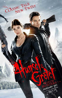 jeremy renner and gemma arterton star in Hansel & gretel: witch hunters