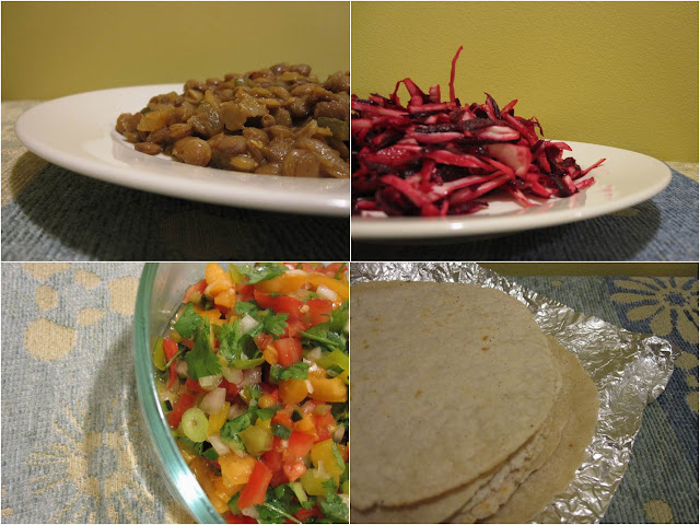 Edible biology: Spiced lentil tacos with fresh salsa ...