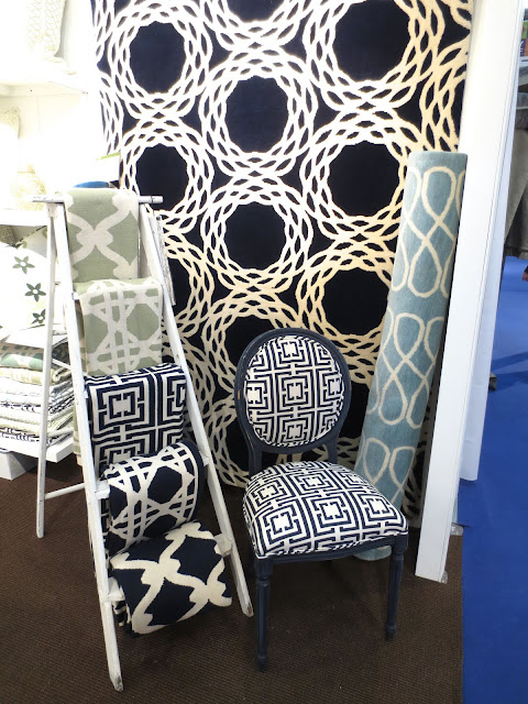 rugs, chair and throws at the NYIGF 2013 COCOCOZY Booth