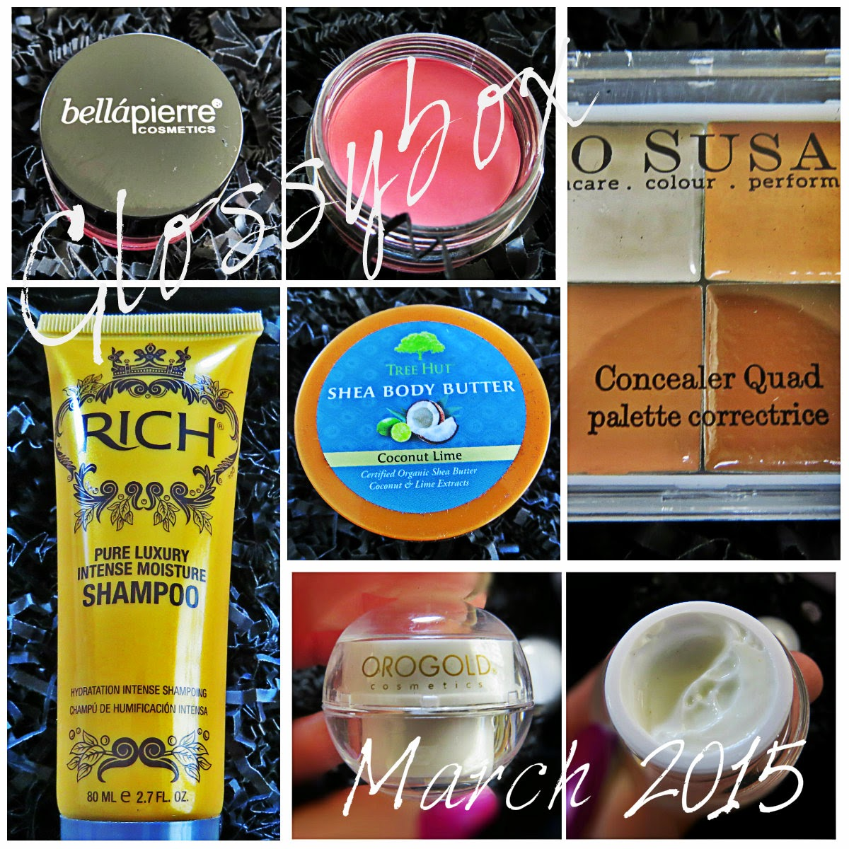 March 2015 Glossybox Review