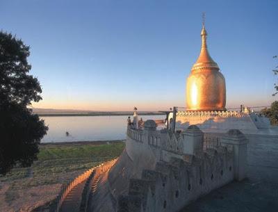 Bupaya Pagoda at the Irrawaddy