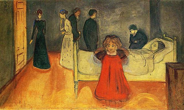 Edvard Munch - Den døde mor og barnet