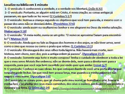 Gincana-Localize na bíblia