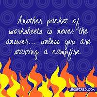 Campfire Worksheets