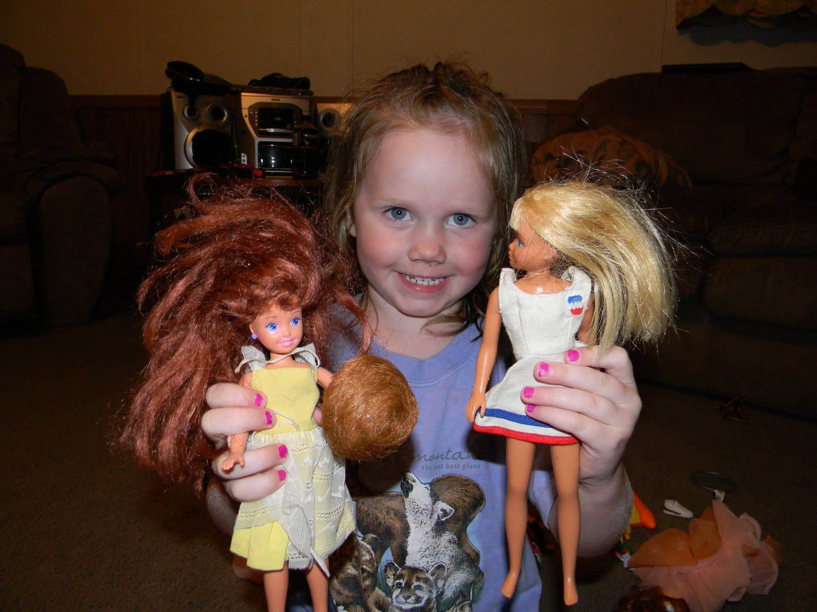 Life With A Whole Lot of Grace: Five Generations of Barbie ...