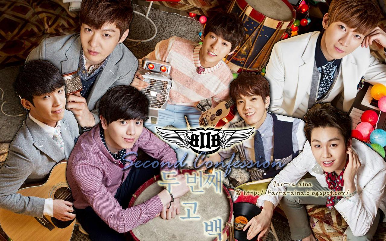 kpop lover btob second confession wallpaper