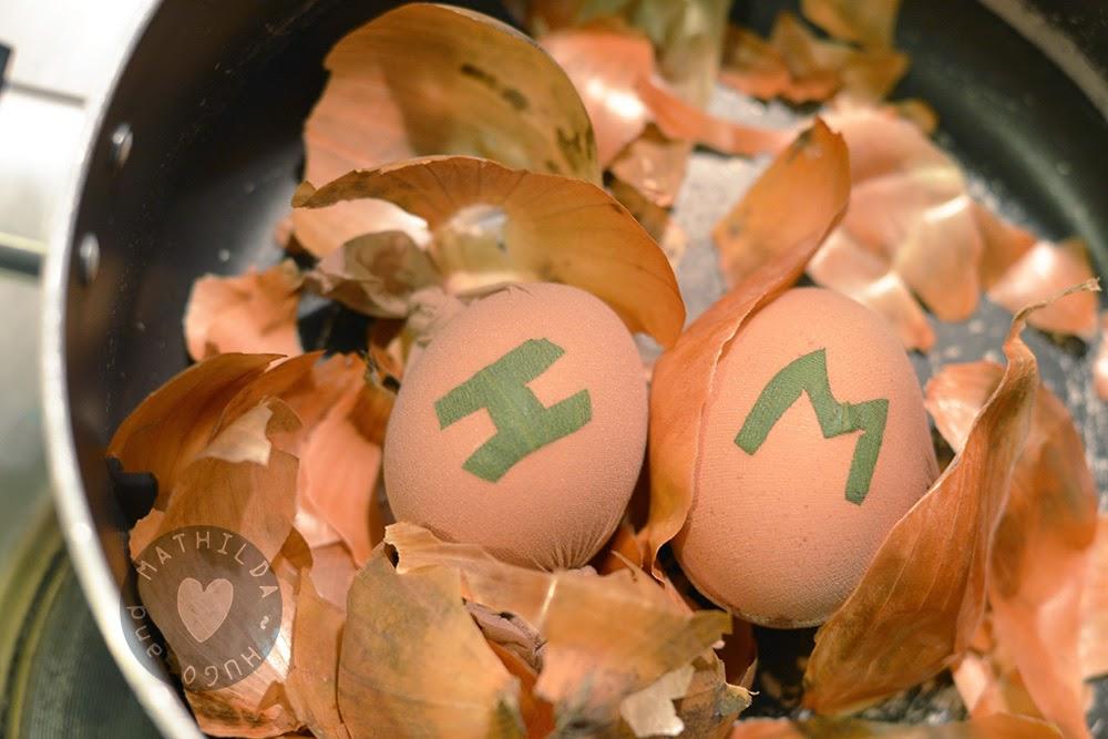 húsvéti tojás díszítés