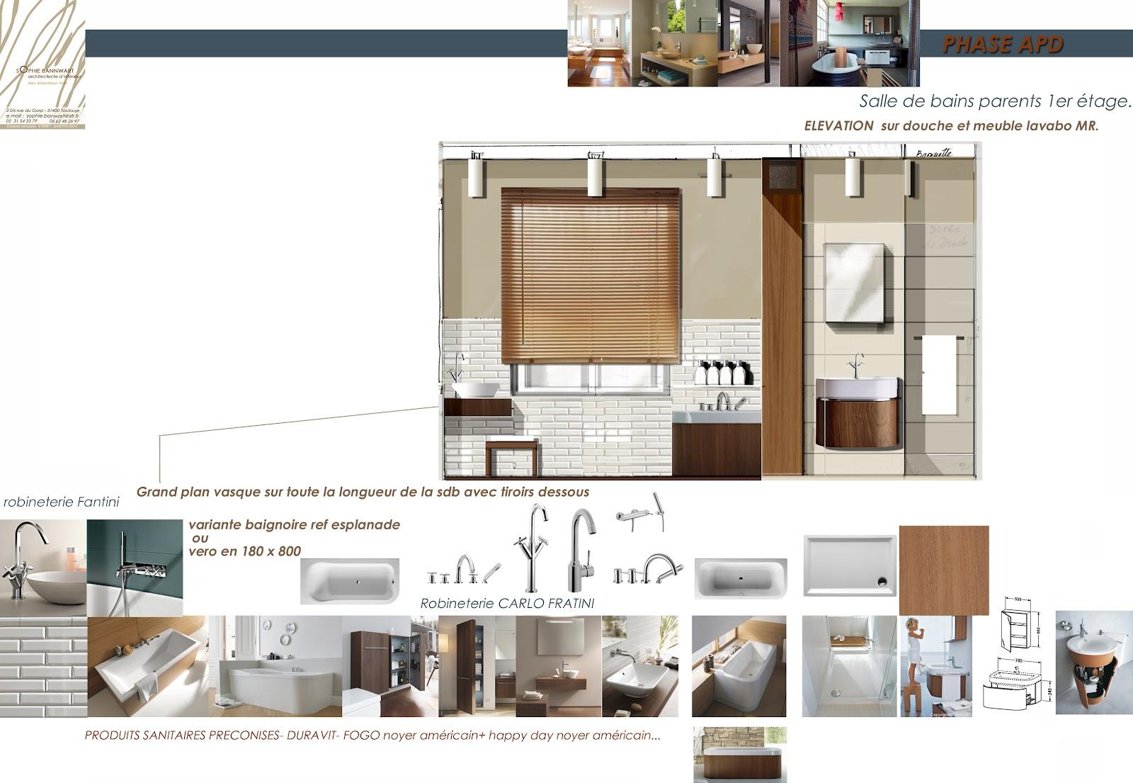 Sophie bannwart architecte d 39 int rieur for Etude architecte d interieur