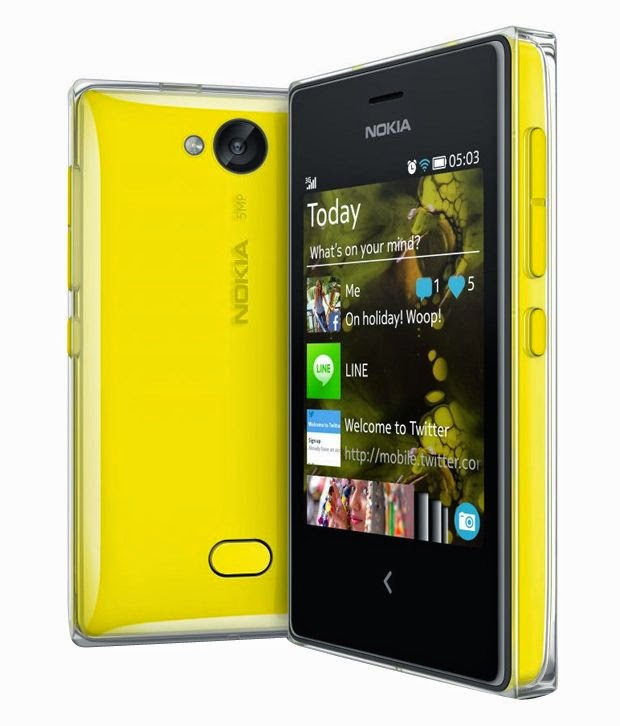 Amazon: Buy Nokia Asha 503 Mobile at Rs. 3360