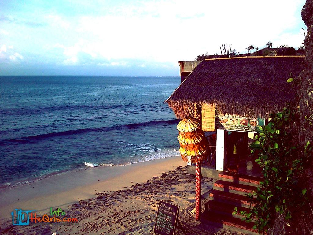 Cafe Pantai Balangan Bali