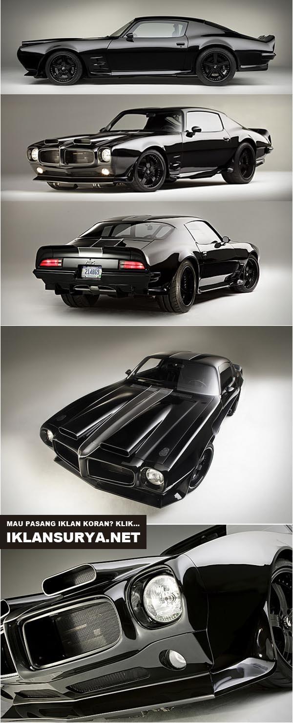 Modifikasi Mobil 1970 Pontiac Firebird