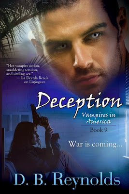 Deception Vampires in America paranormal romance by D.B. Reynolds
