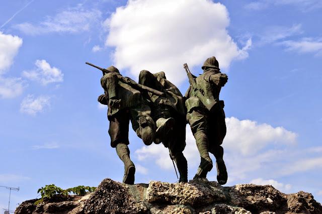 itinerario della grande guerra sul montello